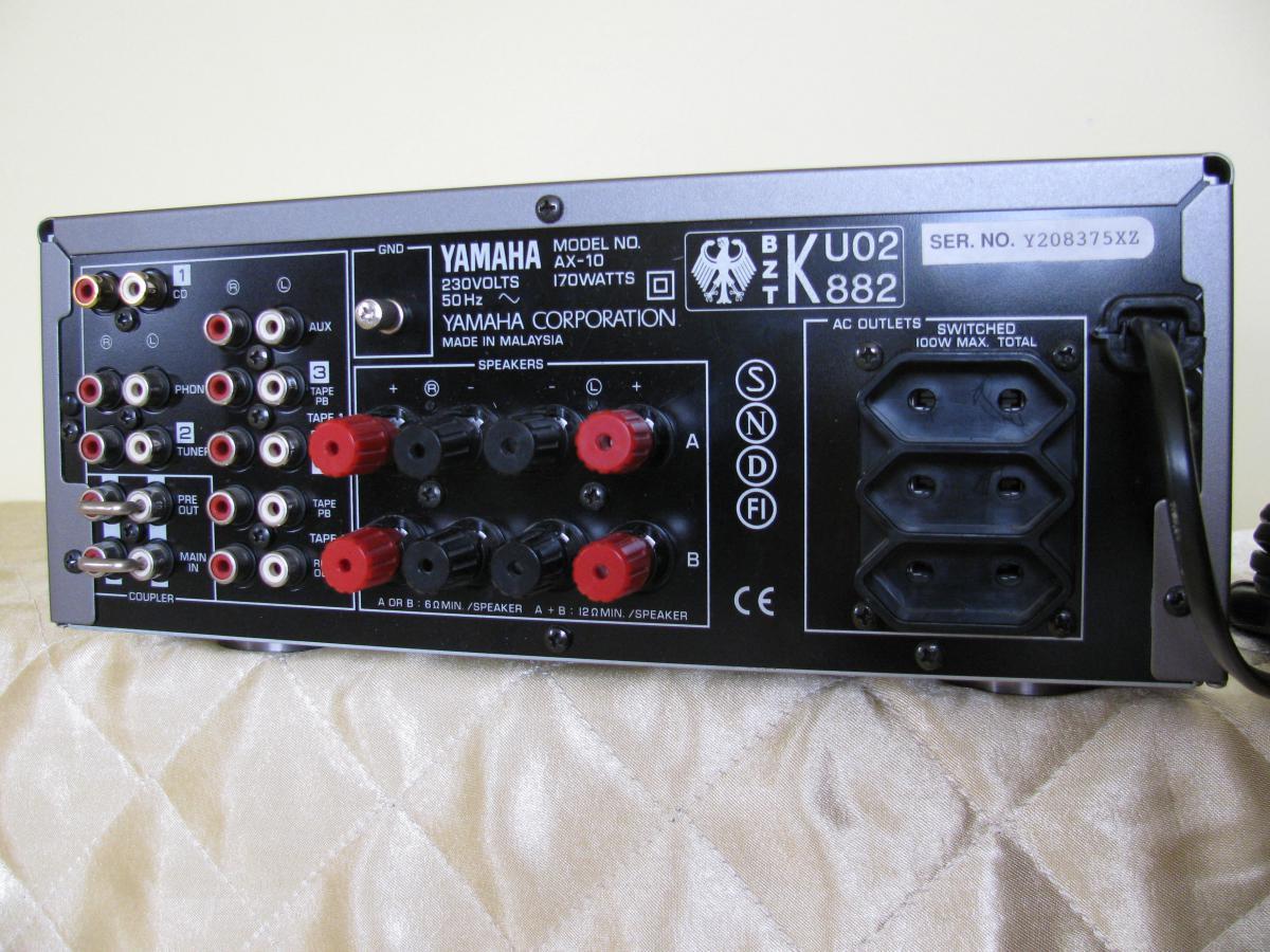 yamaha ax 10 mordaunt short ms308. Black Bedroom Furniture Sets. Home Design Ideas