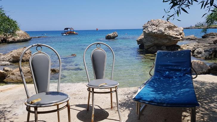 Cyprus small beach